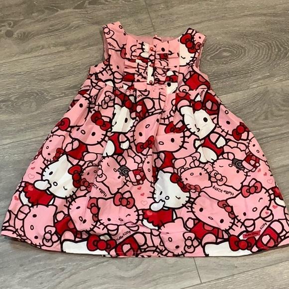 H&M Sanrio Hello Kitty Girls Dress Size 3/4